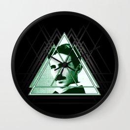 Tri-Tesla Wall Clock