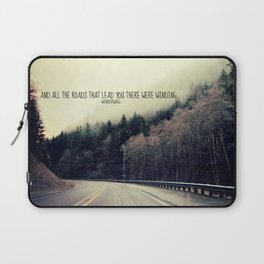 WINDING ROADS ON HWY 101  Laptop Sleeve