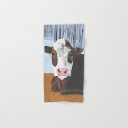 Cow In The Winter Hand & Bath Towel