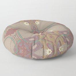 Pallid Minty Pattern 1 Floor Pillow