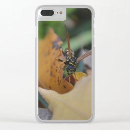 Blending In Clear iPhone Case