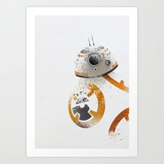 Astromech Beebee-Ate Art Print
