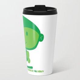 Cubicle Monkey Travel Mug