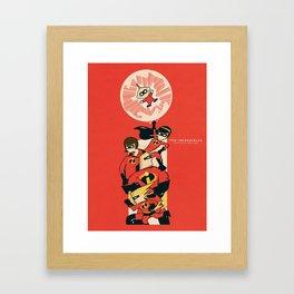 The Incredibles  Framed Art Print