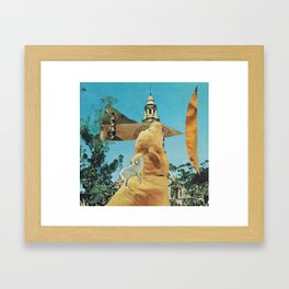 stop Framed Art Print