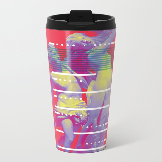 INFINITE LAUREL Metal Travel Mug