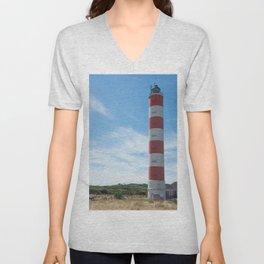 Lighthouse of Berck, Pas-de-Calais Unisex V-Neck