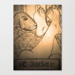 MC Escher  Canvas Print