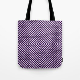 The System - Purple Tote Bag