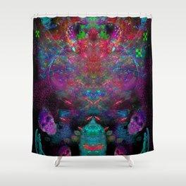 Alien Spirits Beyond Death Shower Curtain