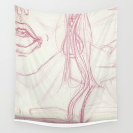Open Mouth Wall Tapestry