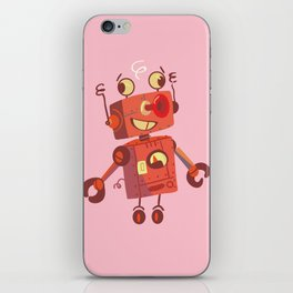 Dizzy Robot iPhone Skin