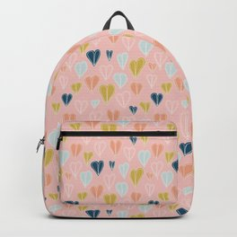 Heart Doodle Pattern 10 Backpack