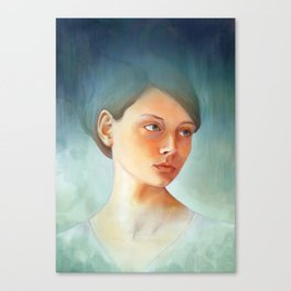 Wash Away Canvas Print