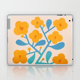 Abstraction_Floral_Blossom_02 Laptop & iPad Skin