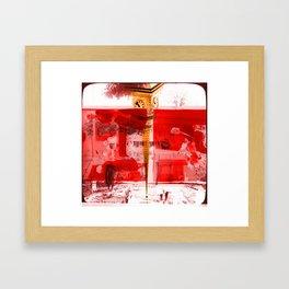 Culture Clash #8 Framed Art Print