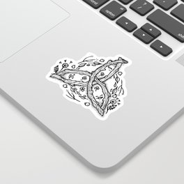 Celtic Triqueta Sticker