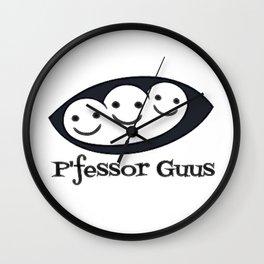 P'fessor Guus Seeds of Optimism Wall Clock