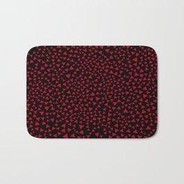 RED TRI Bath Mat