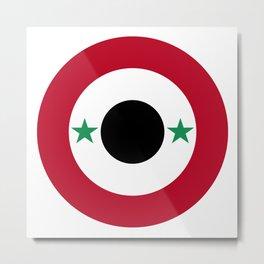Syrian Air Force Metal Print