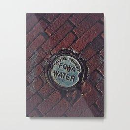 Metal Bricks Metal Print