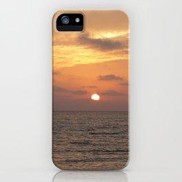 Sunset on Long Key 1 iPhone Case