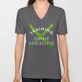 Training: Zombie Apocalypse Unisex V-Neck