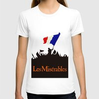 les miserables T-shirts featuring Les Miserables by TheWonderlander