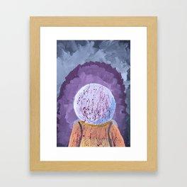 We Have a Problem Framed Art Print