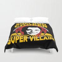 dale cooper Duvet Covers featuring Sheldon Cooper by offbeatzombie
