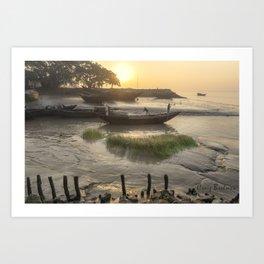 Sunrise Over Raichak Art Print