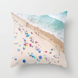 Colors of Manhattan Beach California Throw Pillow