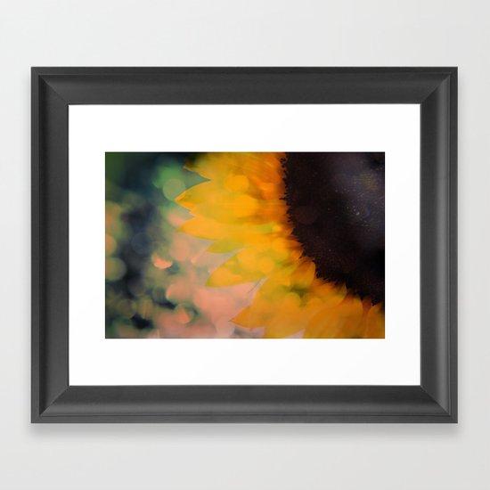 Sunflower I (mini series) Framed Art Print