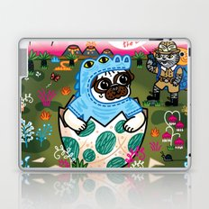 What Came First The Pug Or The Egg? Laptop & iPad Skin