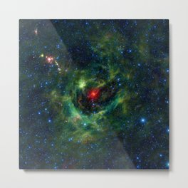 LBN 149.02-00.13 Stellar-Nursery Deep Space Telescopic Photograph Metal Print