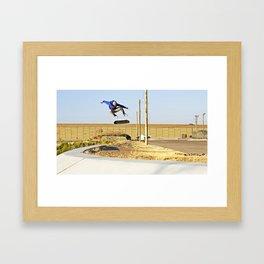 Kickflip Framed Art Print