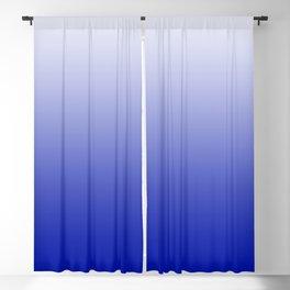 Ombre Zaffre Blue Blackout Curtain