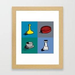Game Night Framed Art Print