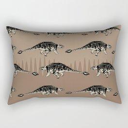 ChocoPaleo: Ankylosaurus Rectangular Pillow
