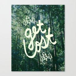 Get Lost x Muir Woods Canvas Print