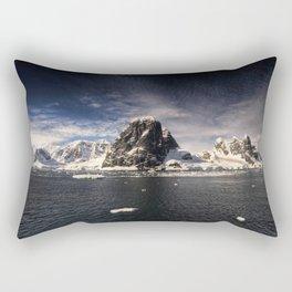 Antartica Landscape Rectangular Pillow