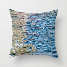 Colors Reflection Throw Pillow