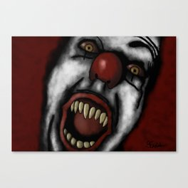 Every Nightmare You've Ever Had Canvas Print