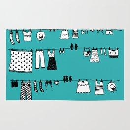Laundry Doodle Rug