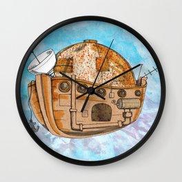 Nave : viagem no tempo Wall Clock