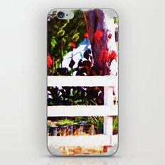 Over the Fence iPhone & iPod Skin