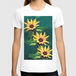 Watercolor sunflowers T-shirt