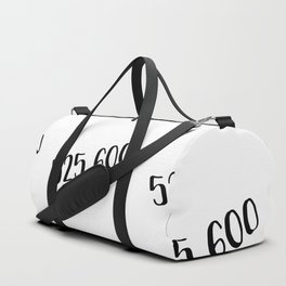 Measure in Love Duffle Bag