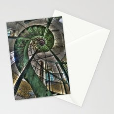 Round stairs Stationery Cards
