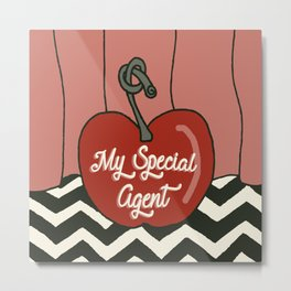 My Special Agent Metal Print